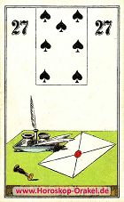 Wüst Lenormand der Brief